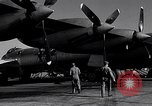 Image of Documenting maintenance and status of B-36 aircraft United States USA, 1951, second 21 stock footage video 65675032418