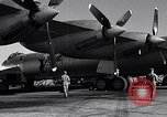 Image of Documenting maintenance and status of B-36 aircraft United States USA, 1951, second 24 stock footage video 65675032418