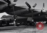Image of Documenting maintenance and status of B-36 aircraft United States USA, 1951, second 27 stock footage video 65675032418