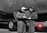 Image of Documenting maintenance and status of B-36 aircraft United States USA, 1951, second 38 stock footage video 65675032418