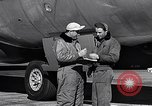 Image of Documenting maintenance and status of B-36 aircraft United States USA, 1951, second 39 stock footage video 65675032418