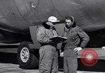 Image of Documenting maintenance and status of B-36 aircraft United States USA, 1951, second 40 stock footage video 65675032418