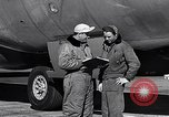 Image of Documenting maintenance and status of B-36 aircraft United States USA, 1951, second 42 stock footage video 65675032418