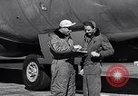 Image of Documenting maintenance and status of B-36 aircraft United States USA, 1951, second 43 stock footage video 65675032418