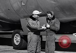Image of Documenting maintenance and status of B-36 aircraft United States USA, 1951, second 44 stock footage video 65675032418