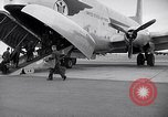 Image of Airmen boarding C-124A Globemaster Roswell New Mexico USA, 1953, second 13 stock footage video 65675032424