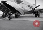Image of Airmen boarding C-124A Globemaster Roswell New Mexico USA, 1953, second 14 stock footage video 65675032424