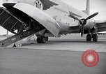 Image of Airmen boarding C-124A Globemaster Roswell New Mexico USA, 1953, second 21 stock footage video 65675032424