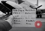 Image of Airmen boarding C-124A Globemaster Roswell New Mexico USA, 1953, second 28 stock footage video 65675032424