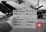 Image of Airmen boarding C-124A Globemaster Roswell New Mexico USA, 1953, second 30 stock footage video 65675032424