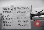 Image of Airmen boarding C-124A Globemaster Roswell New Mexico USA, 1953, second 49 stock footage video 65675032424