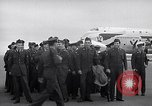 Image of Airmen boarding C-124A Globemaster Roswell New Mexico USA, 1953, second 56 stock footage video 65675032424