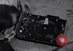 Image of tape recorder of U-2 aircraft Orlando Florida McCoy Air Force Base USA, 1962, second 60 stock footage video 65675032493