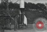 Image of A-4 Missile on launch pad Ostvorpommern Germany, 1942, second 2 stock footage video 65675032512