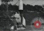 Image of A-4 Missile on launch pad Ostvorpommern Germany, 1942, second 8 stock footage video 65675032512