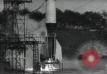 Image of A-4 Missile on launch pad Ostvorpommern Germany, 1942, second 10 stock footage video 65675032512