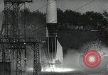Image of A-4 Missile on launch pad Ostvorpommern Germany, 1942, second 15 stock footage video 65675032512