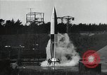 Image of A-4 Missile Ostvorpommern Germany, 1942, second 9 stock footage video 65675032515