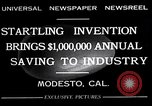 Image of egg breaker and separator machine Modesto California USA, 1932, second 7 stock footage video 65675032518