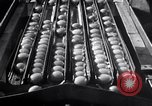 Image of egg breaker and separator machine Modesto California USA, 1932, second 40 stock footage video 65675032518