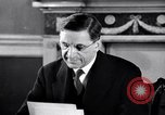 Image of Eamon de Valera and newly independent Eire Shannon Ireland, 1946, second 30 stock footage video 65675032534