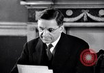 Image of Eamon de Valera and newly independent Eire Shannon Ireland, 1946, second 31 stock footage video 65675032534