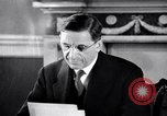 Image of Eamon de Valera and newly independent Eire Shannon Ireland, 1946, second 32 stock footage video 65675032534