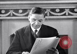 Image of Eamon de Valera and newly independent Eire Shannon Ireland, 1946, second 33 stock footage video 65675032534