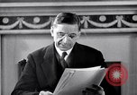 Image of Eamon de Valera and newly independent Eire Shannon Ireland, 1946, second 37 stock footage video 65675032534