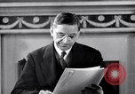 Image of Eamon de Valera and newly independent Eire Shannon Ireland, 1946, second 38 stock footage video 65675032534