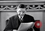 Image of Eamon de Valera and newly independent Eire Shannon Ireland, 1946, second 39 stock footage video 65675032534