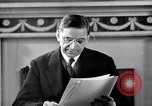 Image of Eamon de Valera and newly independent Eire Shannon Ireland, 1946, second 41 stock footage video 65675032534