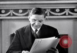 Image of Eamon de Valera and newly independent Eire Shannon Ireland, 1946, second 42 stock footage video 65675032534