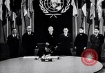 Image of Harry S Truman at UN Charter conference San Francisco California USA, 1945, second 13 stock footage video 65675032539