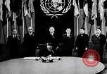 Image of Harry S Truman at UN Charter conference San Francisco California USA, 1945, second 15 stock footage video 65675032539