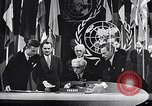 Image of Harry S Truman at UN Charter conference San Francisco California USA, 1945, second 17 stock footage video 65675032539
