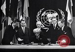 Image of Harry S Truman at UN Charter conference San Francisco California USA, 1945, second 18 stock footage video 65675032539