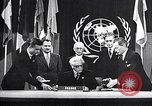 Image of Harry S Truman at UN Charter conference San Francisco California USA, 1945, second 19 stock footage video 65675032539