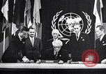 Image of Harry S Truman at UN Charter conference San Francisco California USA, 1945, second 20 stock footage video 65675032539