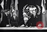 Image of Harry S Truman at UN Charter conference San Francisco California USA, 1945, second 21 stock footage video 65675032539