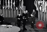 Image of Harry S Truman at UN Charter conference San Francisco California USA, 1945, second 24 stock footage video 65675032539