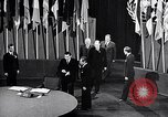 Image of Harry S Truman at UN Charter conference San Francisco California USA, 1945, second 25 stock footage video 65675032539