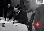 Image of Harry S Truman at UN Charter conference San Francisco California USA, 1945, second 33 stock footage video 65675032539