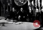 Image of Harry S Truman at UN Charter conference San Francisco California USA, 1945, second 37 stock footage video 65675032539