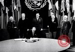 Image of Harry S Truman at UN Charter conference San Francisco California USA, 1945, second 40 stock footage video 65675032539
