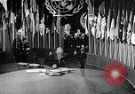 Image of Harry S Truman at UN Charter conference San Francisco California USA, 1945, second 41 stock footage video 65675032539