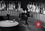 Image of Harry S Truman at UN Charter conference San Francisco California USA, 1945, second 42 stock footage video 65675032539