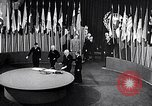 Image of Harry S Truman at UN Charter conference San Francisco California USA, 1945, second 46 stock footage video 65675032539