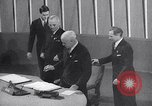 Image of Harry S Truman at UN Charter conference San Francisco California USA, 1945, second 47 stock footage video 65675032539