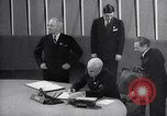 Image of Harry S Truman at UN Charter conference San Francisco California USA, 1945, second 49 stock footage video 65675032539